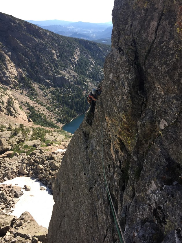 Guided Rock Climbing in Rocky Mountain National Park Culp-Bossier – Hallett Peak Colorado