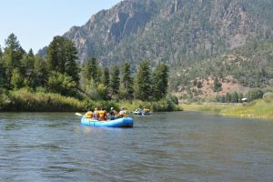 Upper C rafting with Colorado Wilderness Rides And Guides