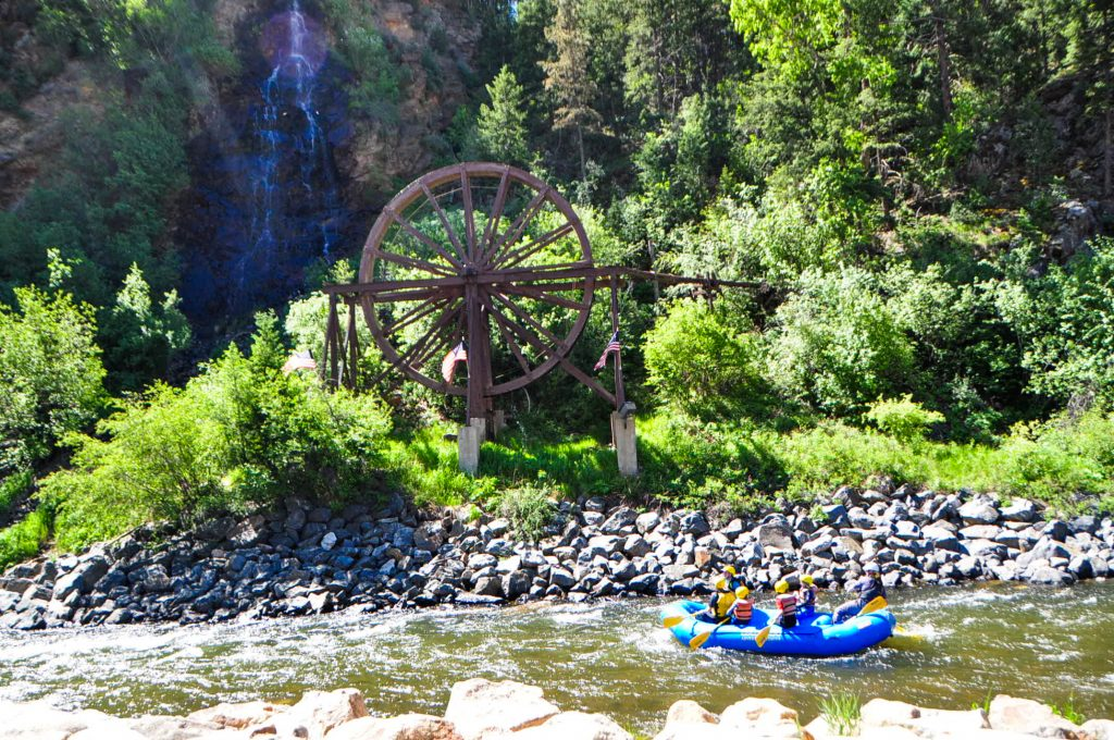 Charlie Taylor Water Wheel - Clear Creek River - Colorado Wilderness Rides And Guides