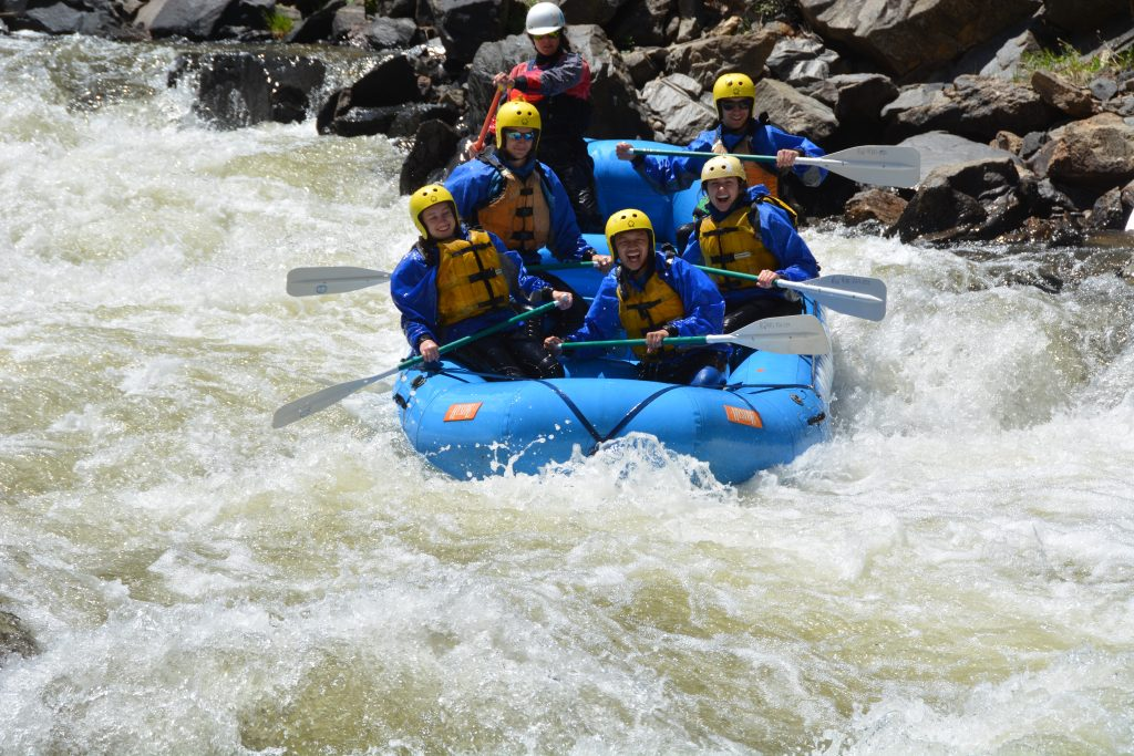 Clear Creek River Rafting - Intermediate Trip - Colorado Wilderness Rides And Guides
