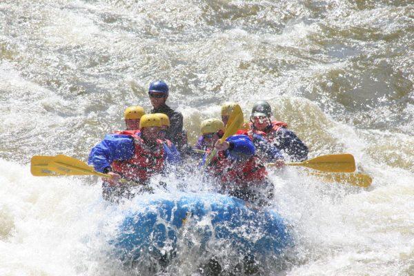 Clear Creek Rafting Trip