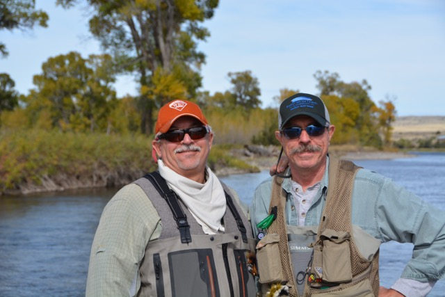 Two anglers on a Colorado Wilderness Rides And Guides Fly Fishing Guide Training Course 2018
