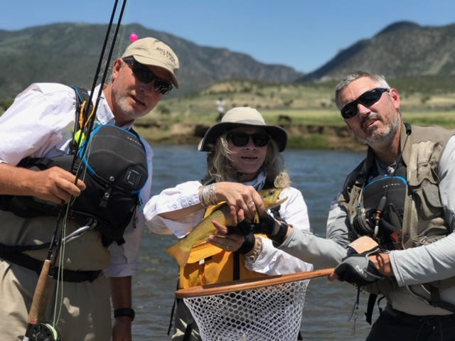 Single Day Guided Fly Fishing Trips on the Upper Colorado River