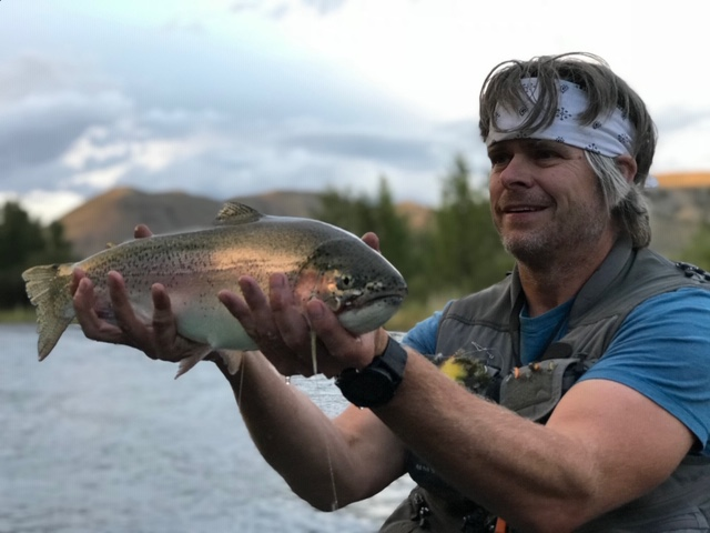 Fly Fishing for Trout in the Upper Colorado River