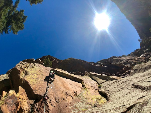 Guided Eldorado Canyon State Park Rock Climbing Trips