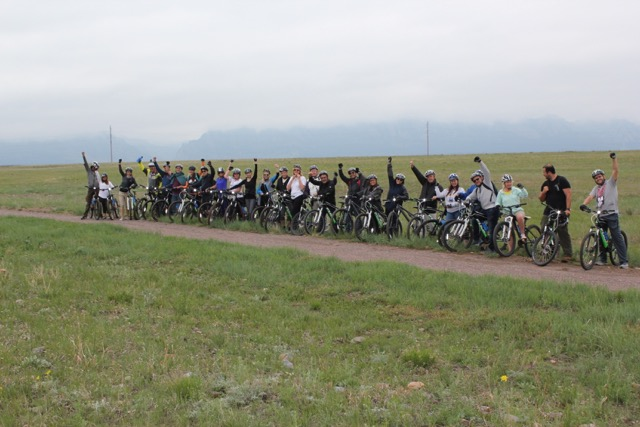 2018 Denver IPW - A Partnership of Visit Denver, Colorado Tourism Office and Travel USA Rocky Mountain Bike Tours