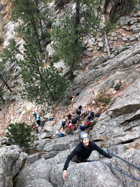 Guided Rock Climbing in the Front Range