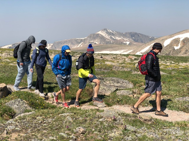 Rocky Mountain National Park Guided Hiking Traverse of the Park with Colorado Wilderness Rides And Guides