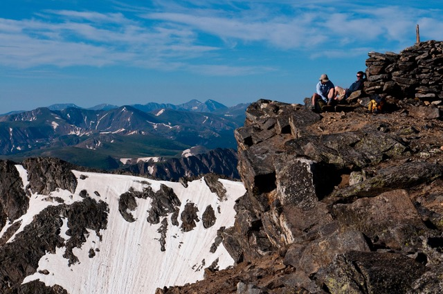 Arapahoe Glacier Climb Colorado Wilderness Rides And Guides