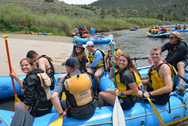 whitewater rafting close to vail with Colorado Wilderness Rides And Guides