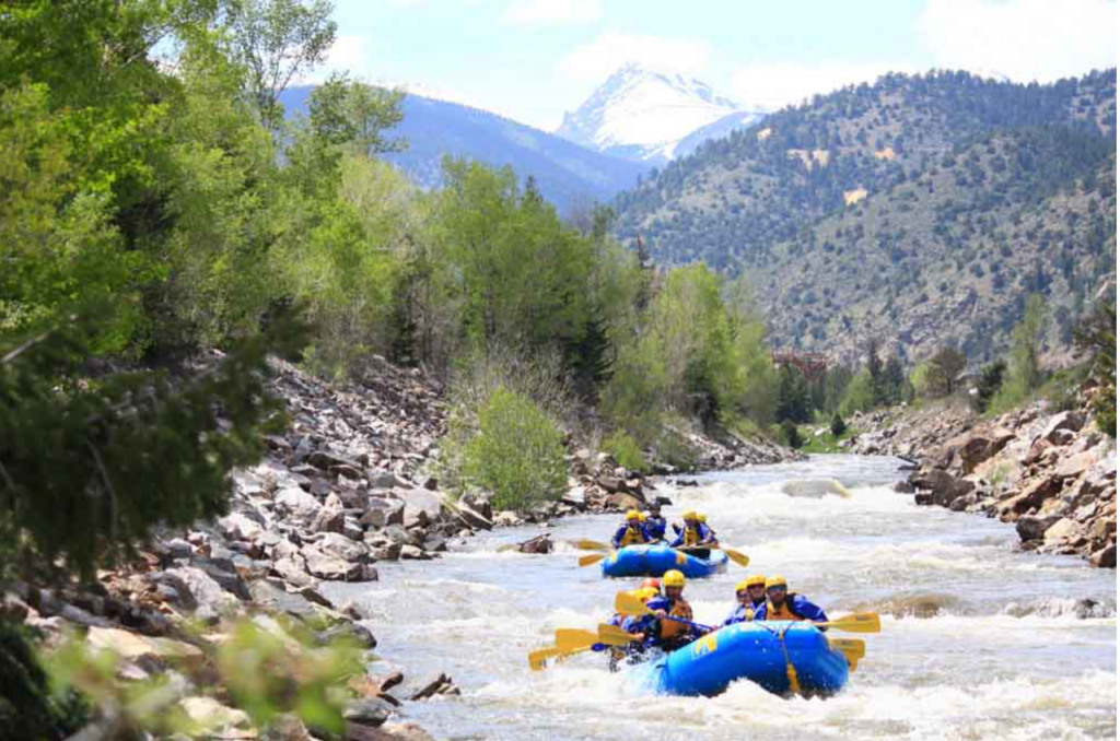 Clear Creek Rafting Trips Close to Denver with Colorado Wilderness Rides And Guides