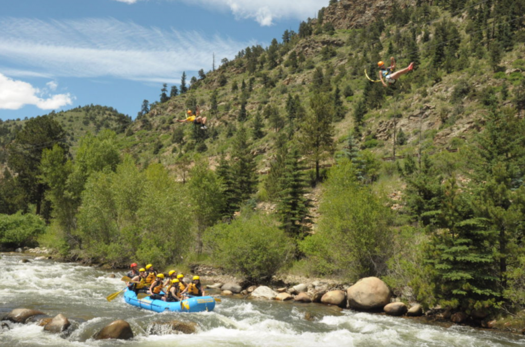 Clear Creek Rafting Trips Close to Boulder with Colorado Wilderness Rides And Guides