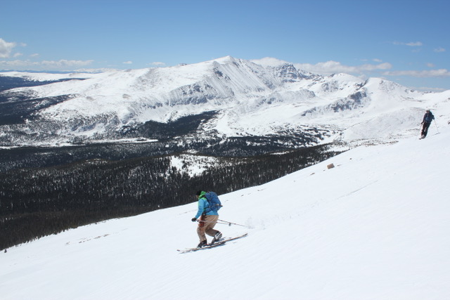 Ski Colorado's Glaciers and Snowfields with Colorado Wilderness Rides And Guides