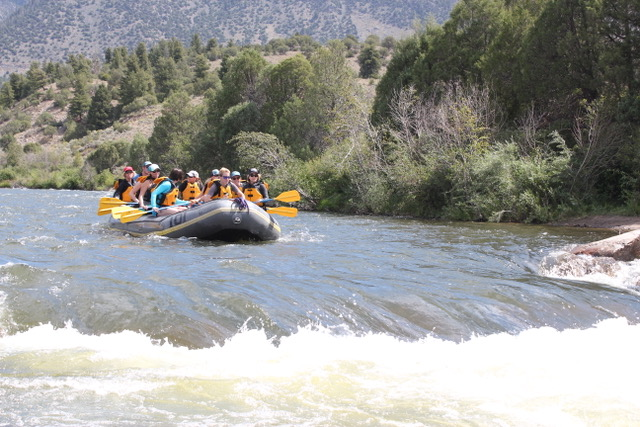 Upper Colorado River Rafting Trips Close to Vail with Colorado Wilderness Rides And Guides