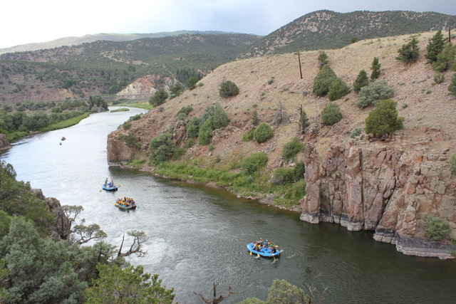 Upper Colorado River Rafting Trips Close to Breckenridge with Colorado Wilderness Rides And Guides