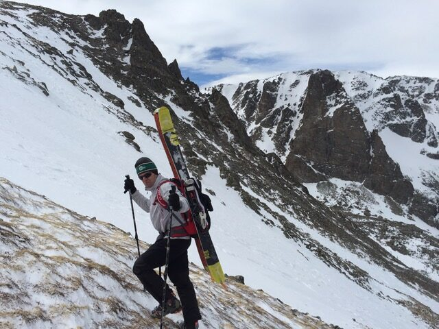 Skiing Colorado's Couloirs