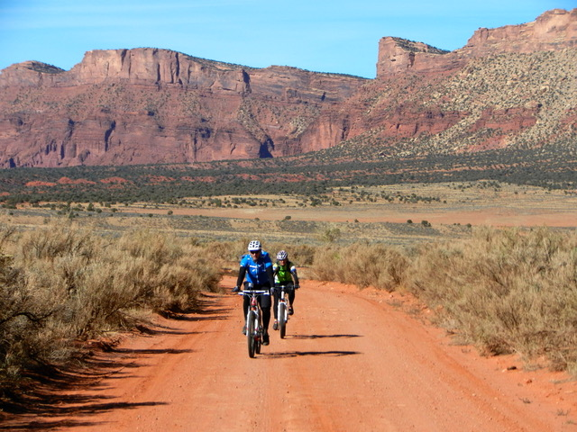 Fruita and Moab Guided Mountain Biking Trips with Colorado Wilderness Rides And Guides