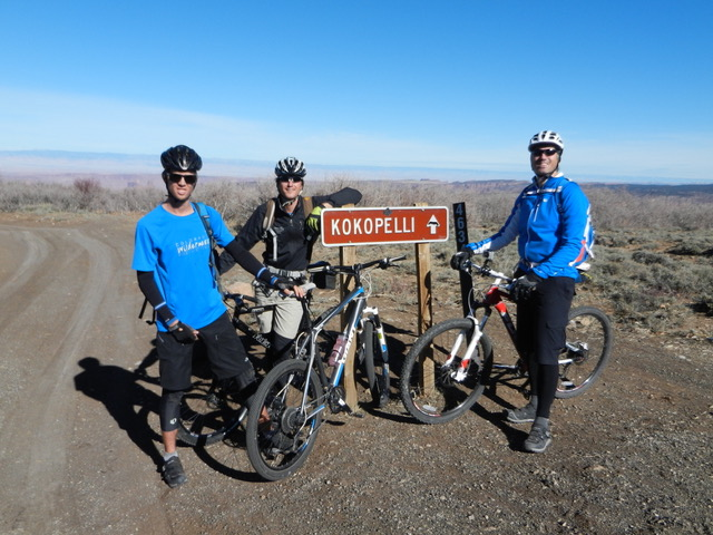 Kokopelli Trail and Trips with Colorado Wilderness Rides And Guides