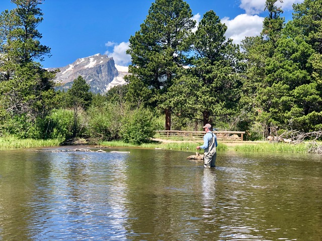 Fly Fishing Sprague Lake RMNP Colorado Wilderness Rides And Guides