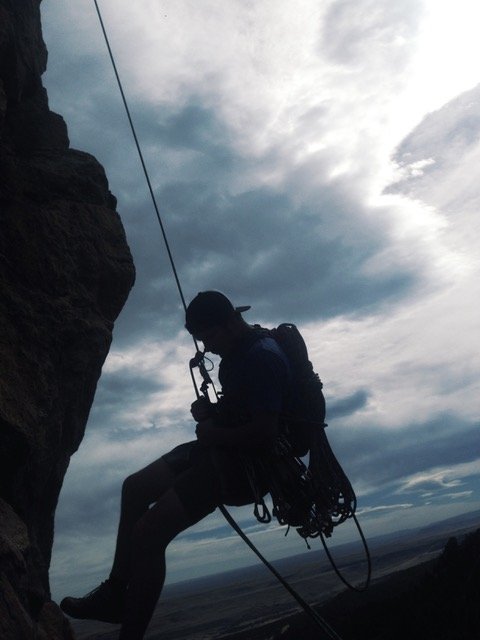Guided Rock Climbing Boulders Flatiron Colorado Wilderness Rides And Guides