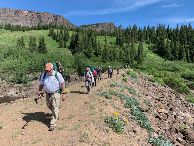 Guided Colorado Flat Tops Wilderness Area Backpacking Trips