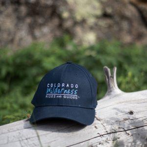 branded black hat