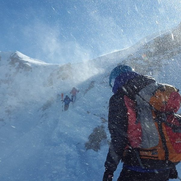 Avalanche class mountaineering