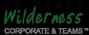 Colorado Wilderness Corporate & Teams Logo