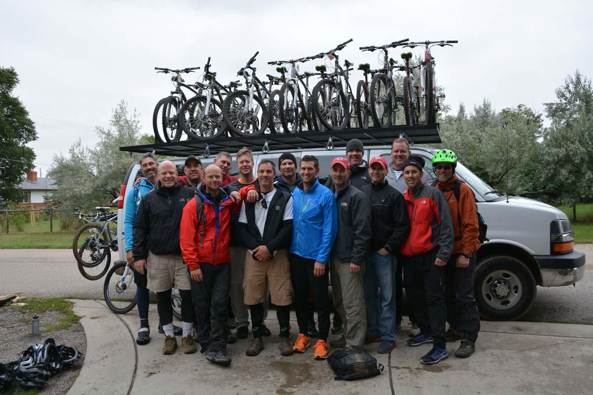 CWRAG shuttle service mountain bike group