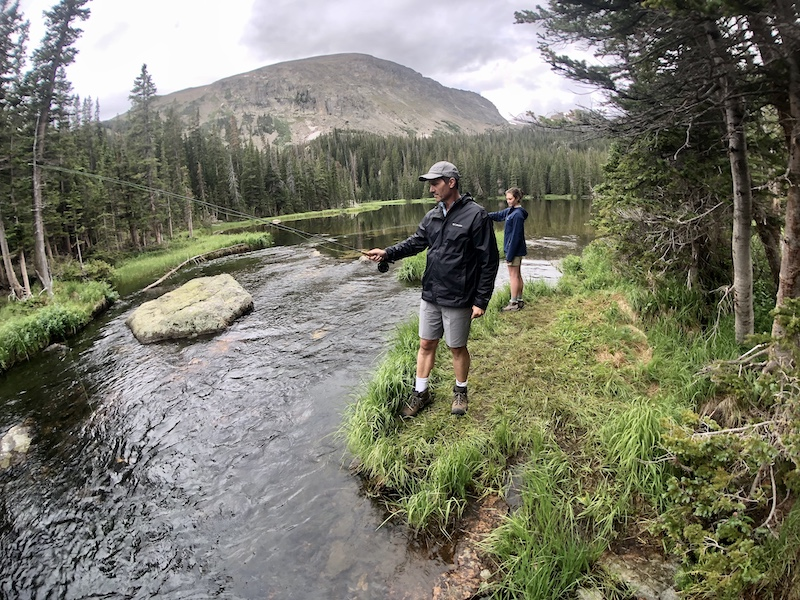 Ouzel Lake Guided Fly Fishing Colorado Wilderness Rides And Guides